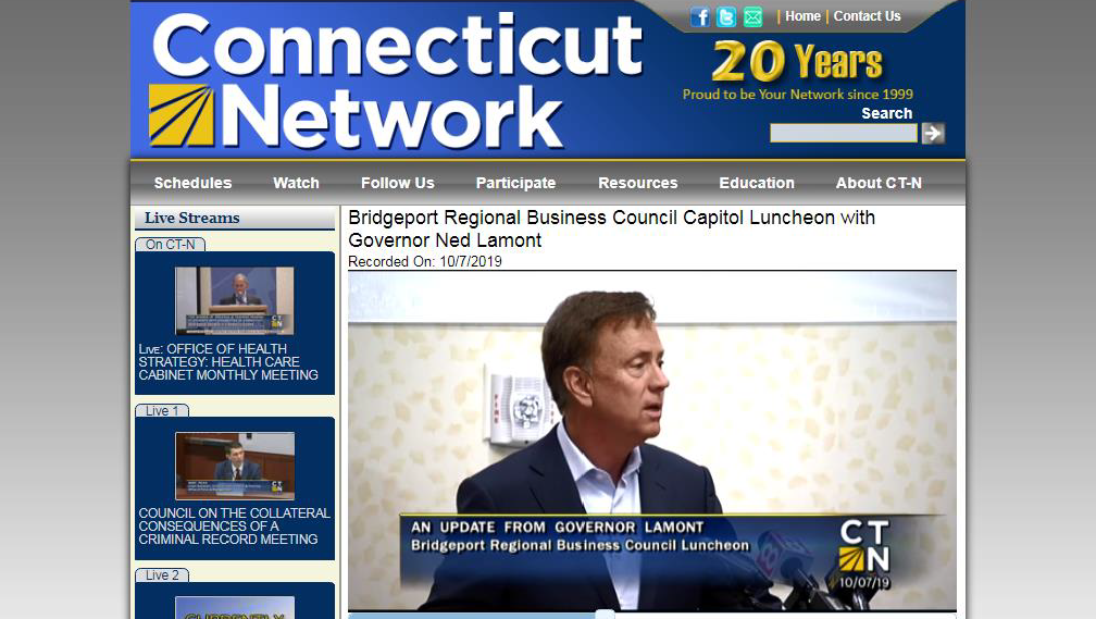 BRBC BLOG: BRBC Luncheon with Governor Lamont